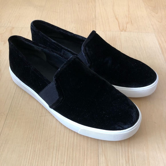 Vince. Woman Velvet Platform Sneakers Dark Brown Size 7.5 Vince k7YNW